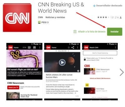 Imagen de App de CNN