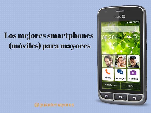 Imagen de Smartphones para mayores