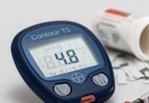 Imagen de Diabetes. Glucómetro