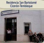 Residencia de mayores Cicerón Tembleque Toledo