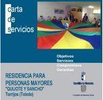 Residencia de Mayores de Torrijos Quijote y Sancho