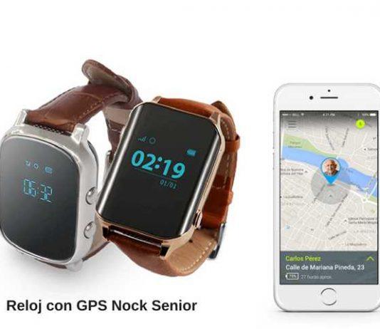 Nock Senior es el reloj con GPS para un control no invasivo de nuestros mayores