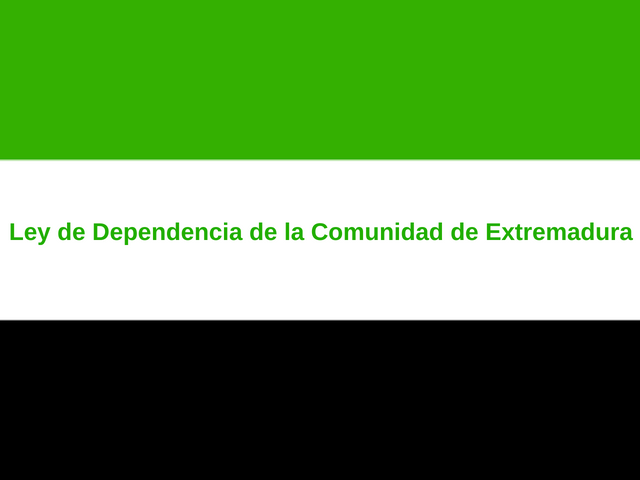 Foto de Ley de Dependencia de la Comunidad de Extremadura