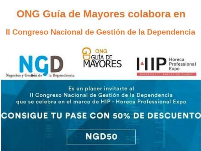 Imagen de ONG GDM colabora II Congreso Nacional Gestión de la Dependencia