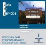 Residencia de Mayores Paseo de la Cuba Albacete
